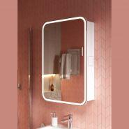 Зеркальный шкаф Alavann Lana 55, свет белый нейтральный