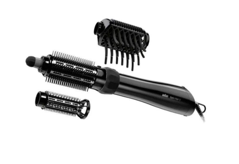 Фен-щетка Braun AS 530 черный