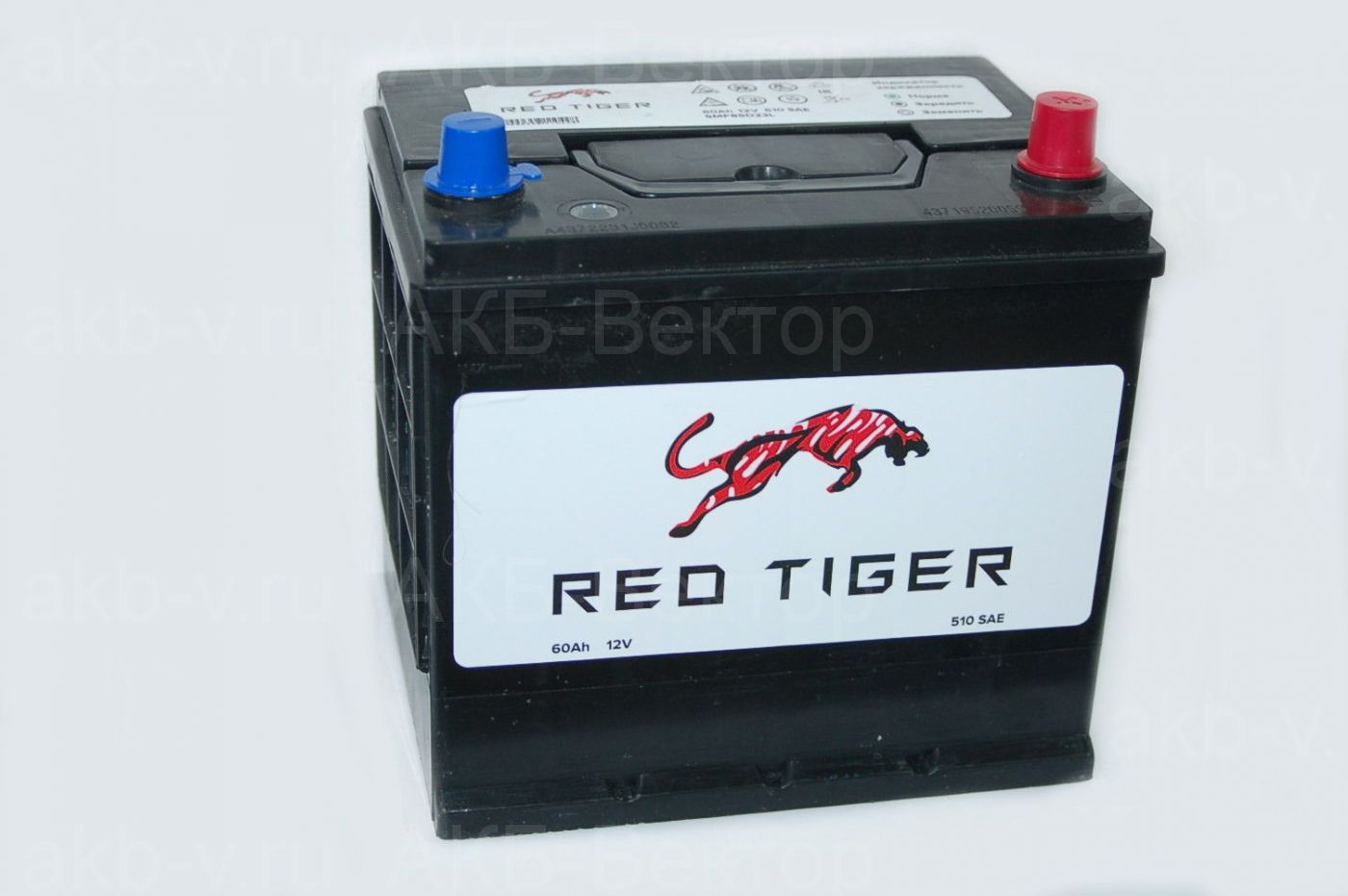 Red Tiger 60 Ач 510А (SAE) / SMF85D23L