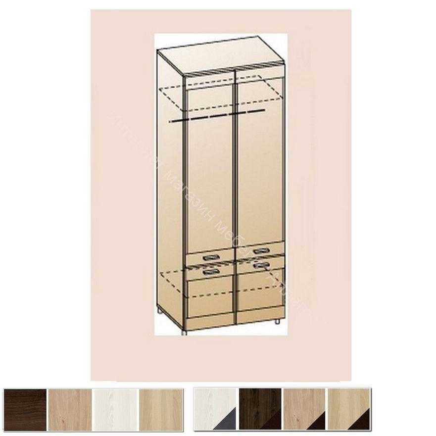 Шкаф для одежды и белья ШК-2602 Камелия