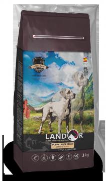 Ландор для щенков крупных пород от 1 до 18 месяцев ягненок с рисом (LANDOR PUPPY LARGE)