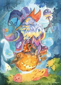 Весёлый дух хеллоуина