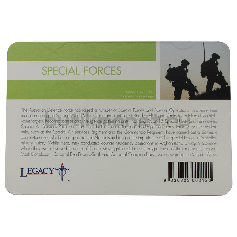 20 центов 2016 Австралия Специальные силы (От АНЗАК до Афганистана)