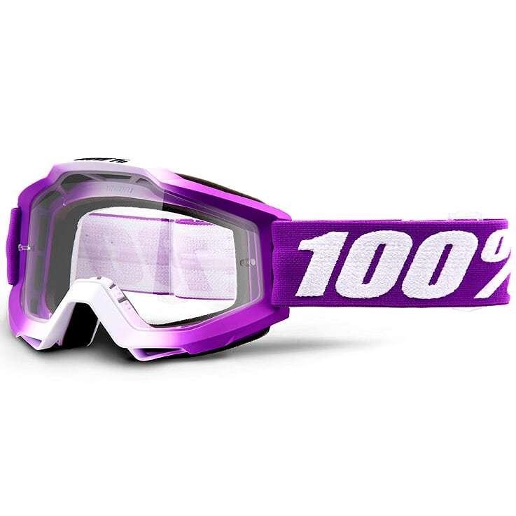 100% - Accuri Framboise Clear Lens, очки