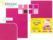 Набор цветного фетра 8 листов, 8 цв, А4, розовый (арт. Tz-10133)