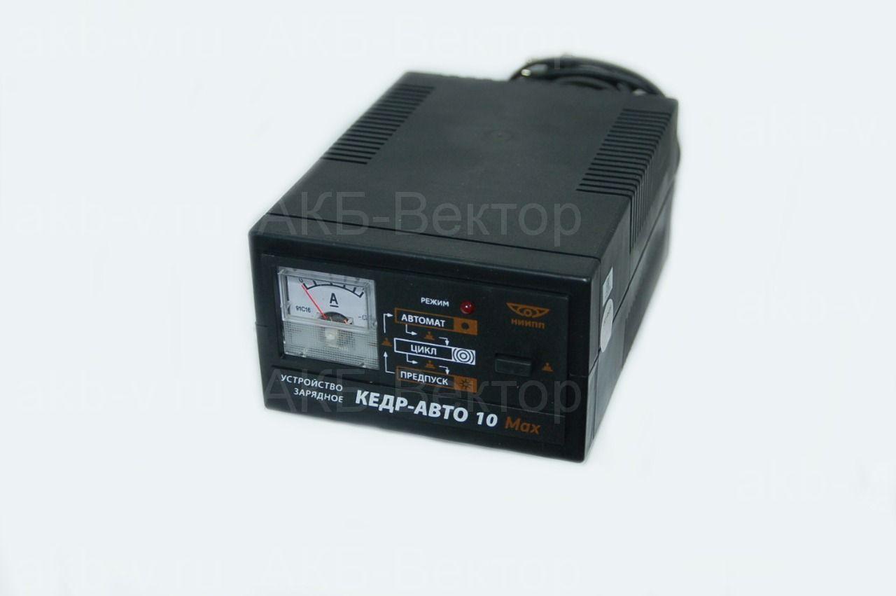 КЕДР-АВТО 10А Max Зарядное устройство