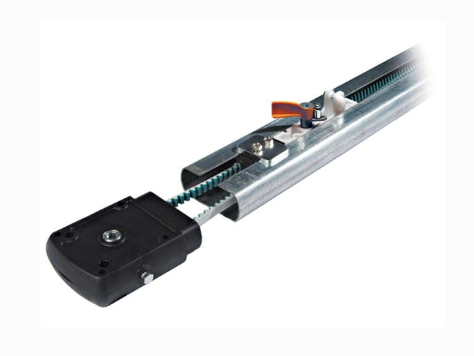 V0682 Профиль направляющий с цепной передачей для ворот высотой до 2,75 м (009V0682)