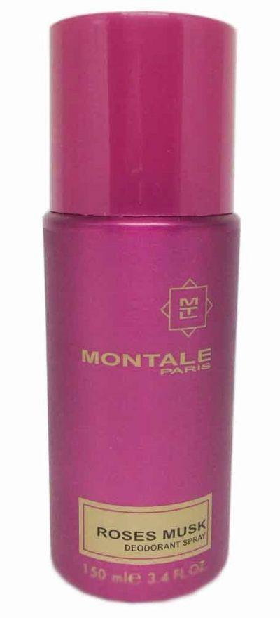 Парфюмированный дезодорант Montale Roses Musk 150 ml (Для женщин)