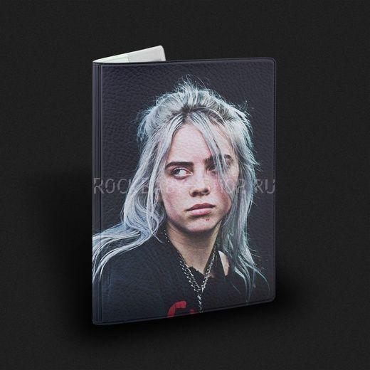 Обложка на паспорт  Billie Eilish