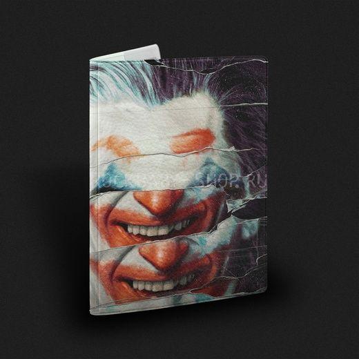 Обложка на паспорт  Joker