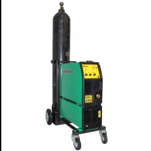 Сварочный полуавтомат 1 - 3 фазный ПДГ-250ИПТ (тележка под газовый баллон)