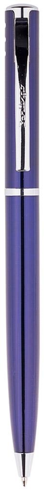 Berlingo Ручка шариковая Silver Standard цвет корпуса синий