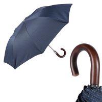 Зонт складной Pasotti Auto Legno Punto Blu