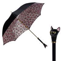Зонт-трость Pasotti Nero Ma Mashi Cat