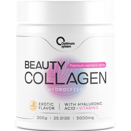 Optimum System Beauty Wellness Collagen 200гр