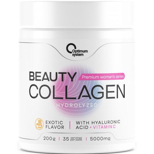 Optimum System Beauty Wellness Collagen 200гр