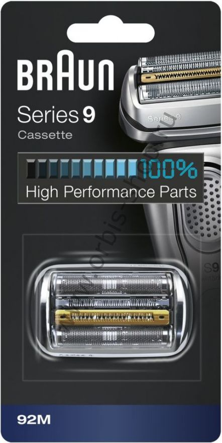 Бритвенная кассета для бритвы Braun 9 серии, 92M (Series 9)