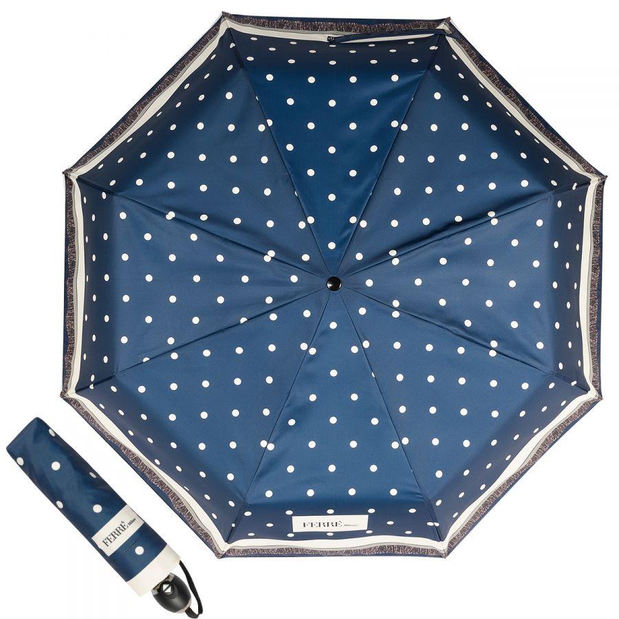 Зонт складной Ferre 6014-OC Dots Blu