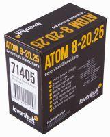 Бинокль Levenhuk Atom 8–20x25 - упаковка сзади