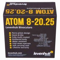 Бинокль Levenhuk Atom 8–20x25 - размеры