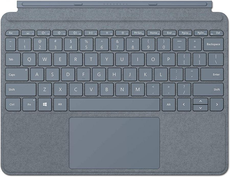 Клавиатура Microsoft Surface Go Signature Type Cover материал Alcantara (Ice Blue)