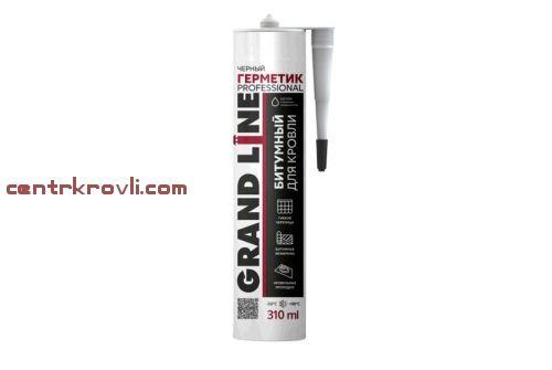 Герметик кровельный Grand Line Professional битумный черный 310мл