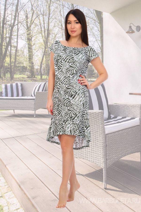 Платье женское  зеленый