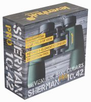 Бинокль Levenhuk Sherman PRO 10x42 - упаковка