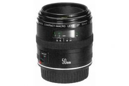 Объектив Canon EF 50mm f/2.5 Compact Macro