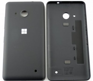 Задняя крышка Microsoft Lumia 550 (black) Аналог
