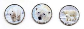 Белый медведь 25 пенсов Ист-Бе́рра 2021