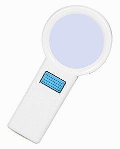 Лупа ручная круглая 10x-70мм с подсветкой