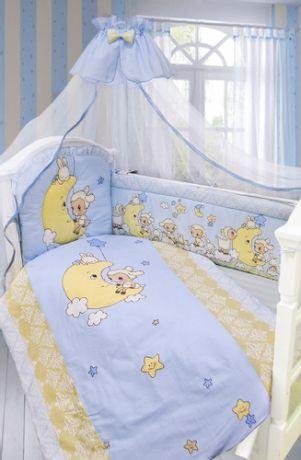 "Комплект в кроватку 7 пр."" На Луне"""