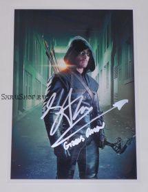 Автограф: Стивен Амелл. Стрела / Arrow