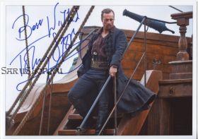 Автограф: Тоби Стивенс. Черные паруса / Black Sails