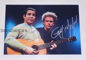 Автографы: Пол Саймон, Арт Гарфанкел. Simon & Garfunkel