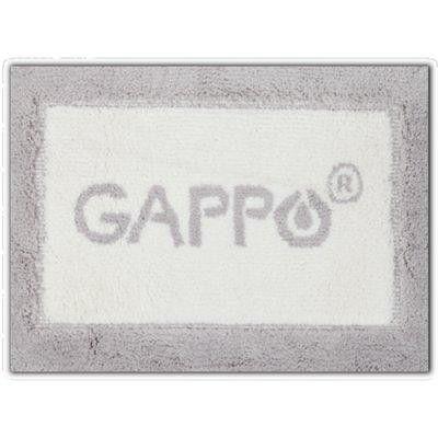 Коврик для ванной серый Gappo G85501