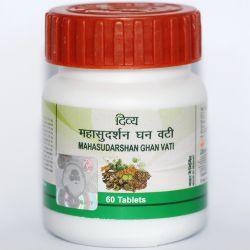 Махасударшан гхан вати, противовирусное (60 таб), mahasudarshan ghan vati, patanjali