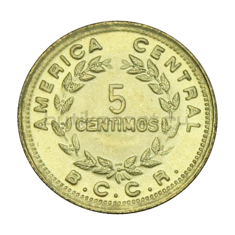 5 сентимо 1979 Коста-Рика
