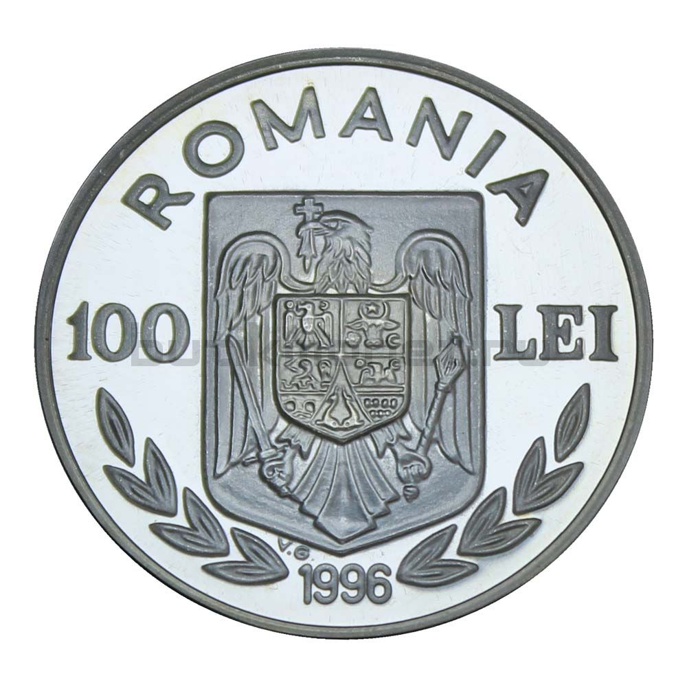 100 лей 1996 Румыния Чемпионат Европы по футболу 1996