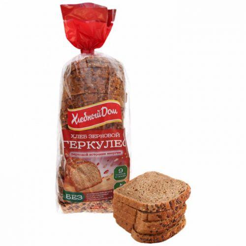 Хлеб Хлебный Дом Геркулес зерновой 500 г