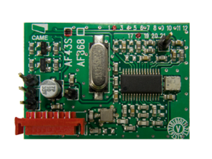 AF43S Плата-радиоприемник 433.92 МГц (001AF43S)