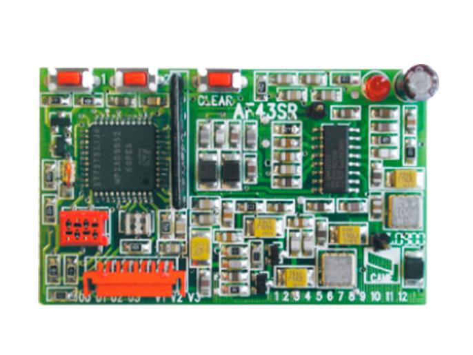 AF43SR Плата-радиоприемник 433.92 МГц для брелоков-передатчиков с динамическим кодом (001AF43SR)