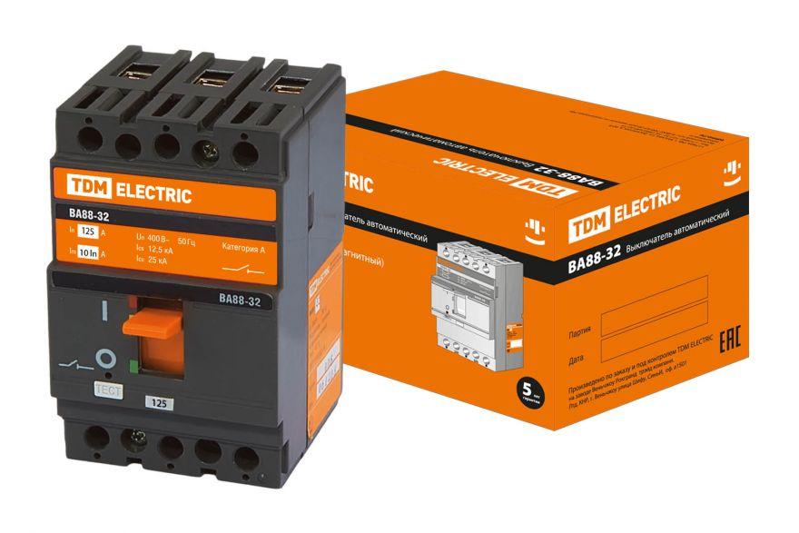 Автоматический выключатель TDM ВА88-40 SQ0707-0022