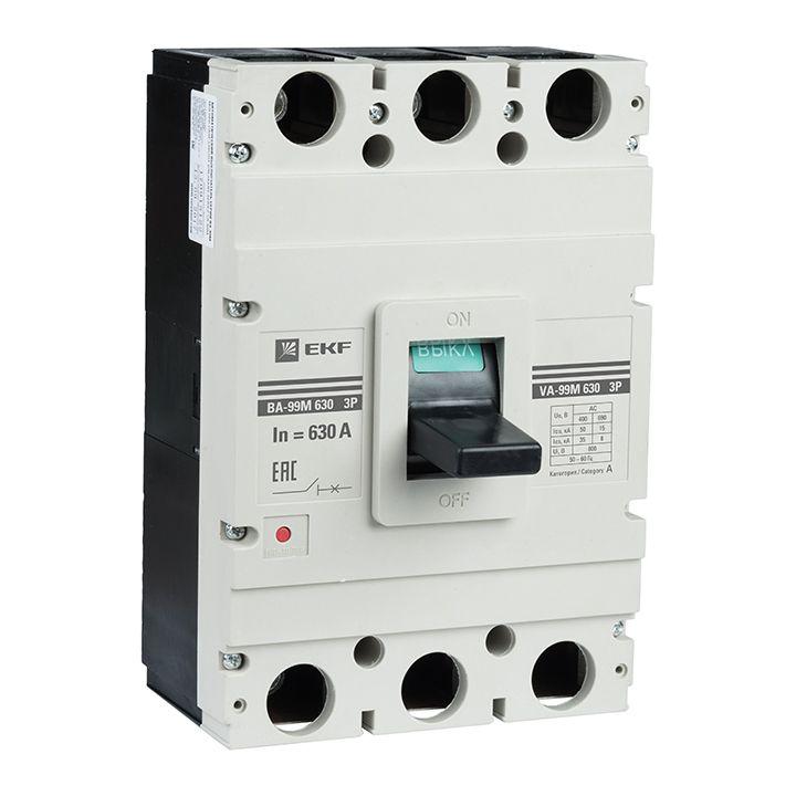 EKF Автоматический выключатель ВА-99М 630/400А 3P 50кА EKF Basic