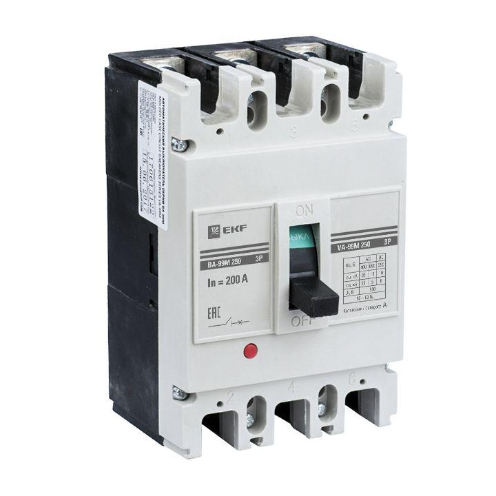 EKF Автоматический выключатель ВА-99М 250/250А 3P 25кА EKF Basic