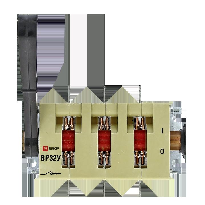 EKF Выключатель-разъединитель ВР32У-35А71220 250А, 2 направления с д/г камерами, несъемная левая/пра