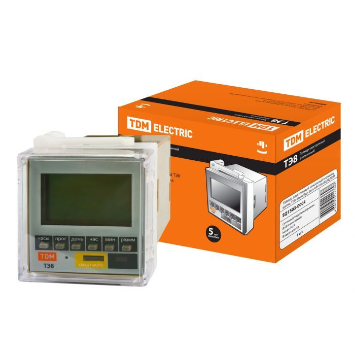 Электронный программируемый таймер TDM ТЭ8 SQ1503-0004