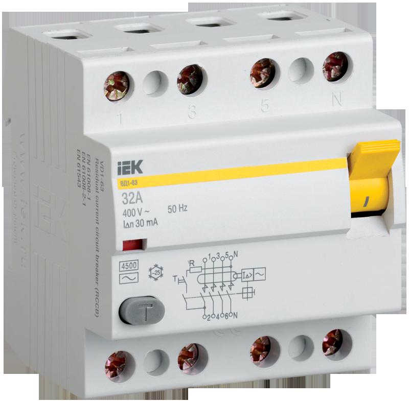 Устройство защитного выключения IEK MDV10-4-040-300