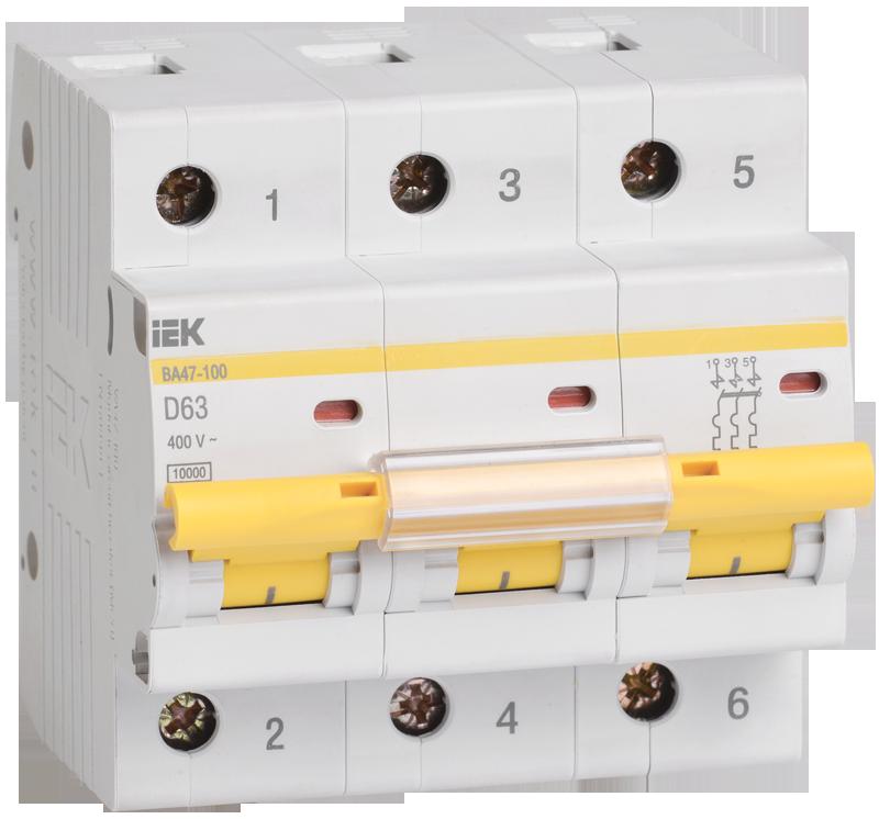 Автоматический выключатель IEK MVA40-3-025-D